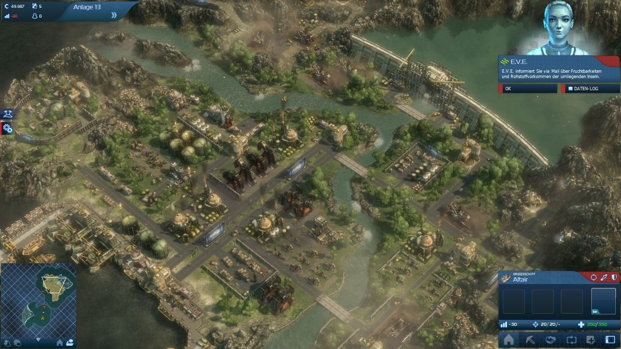 Anno 2070 - Best PC Games For Build City Simulations