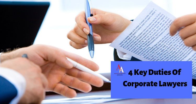 4 Key Duties Of Corporate Lawyers