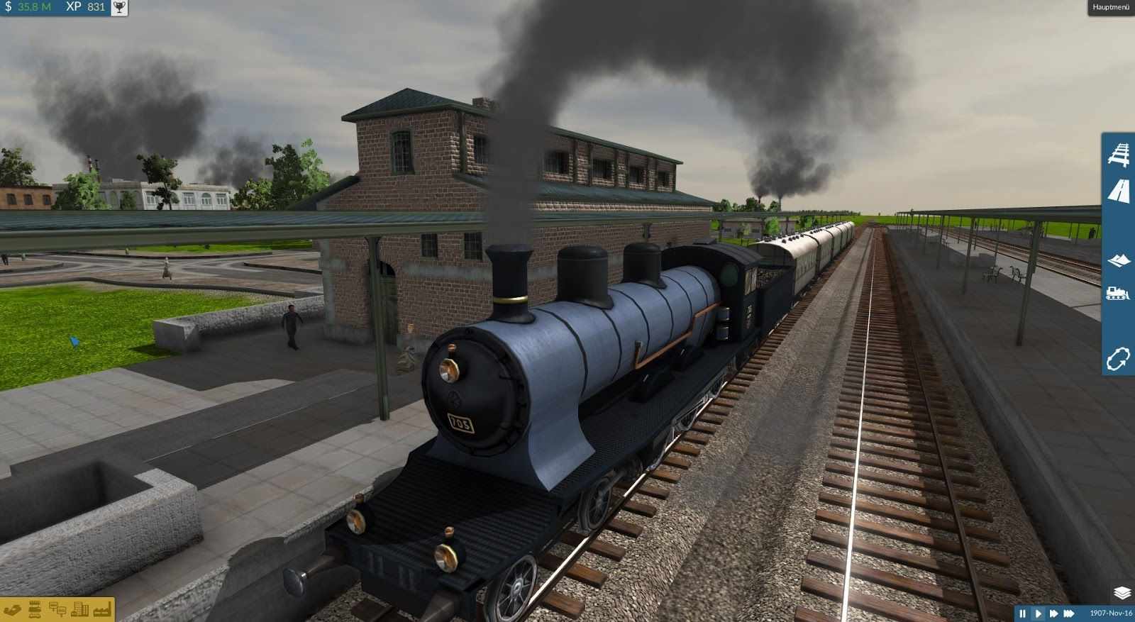 Train Fever - Best PC Games For Build City Simulations