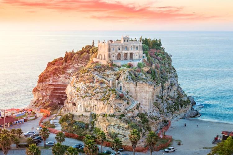 Santa Maria Dell' Isola Monastery-Tropea In Italy
