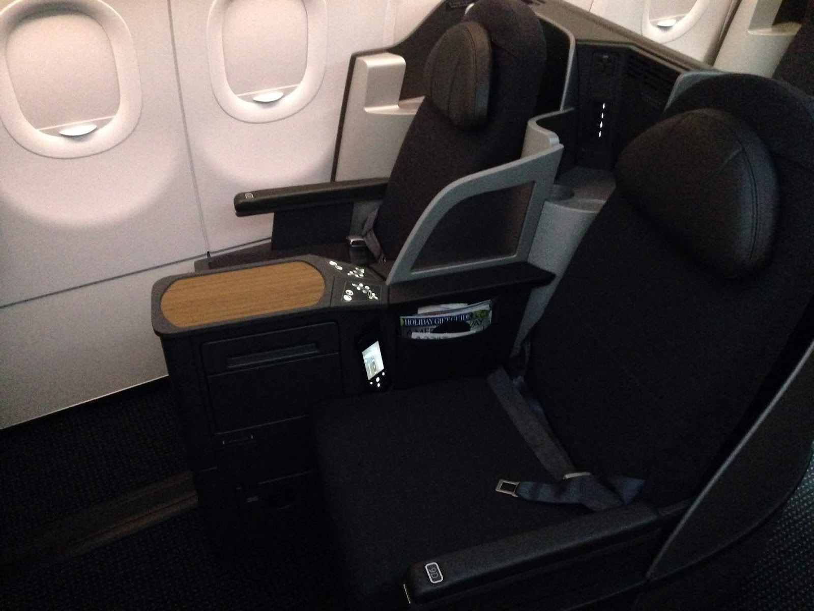 American Airlines Business Class Seats