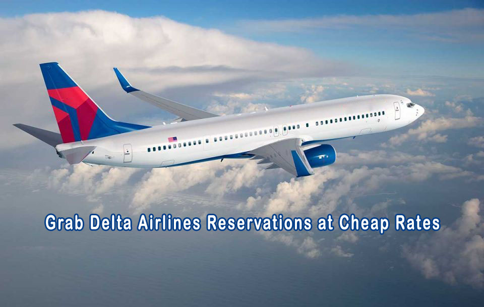 Grab Delta Airlines Reservations At Cheap Rates