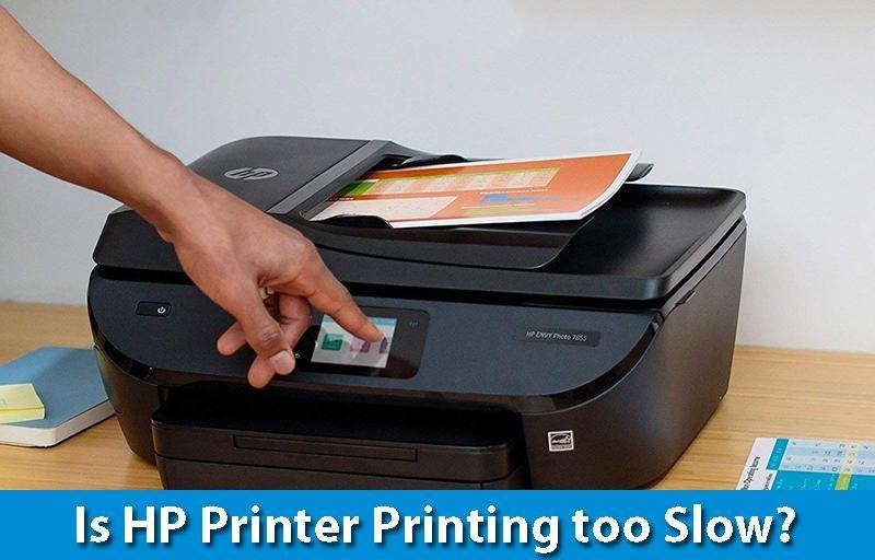 Is HP Printer Printing Too Slow?