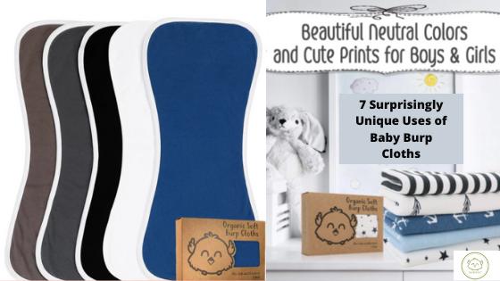 7 Surprisingly Unique Uses Of Baby Burp Cloths