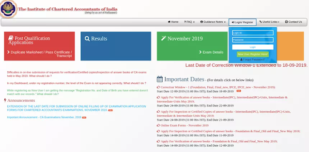 Download CA Foundation Admit Card May 2020
