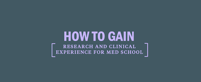 How To Gain Clinical Experience Before Applying To Medical School