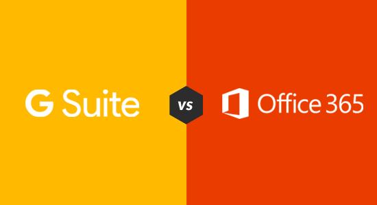 G-Suite Vs Office 365