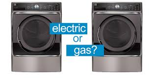 Gas vs. electric dryer